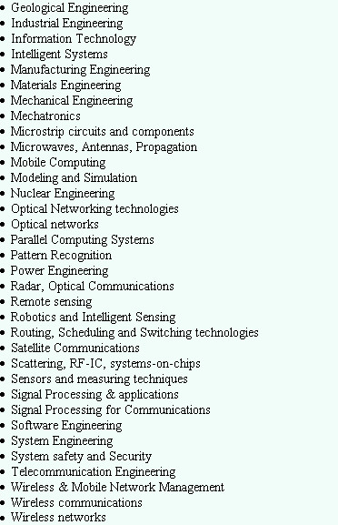 Geological Engineering Industrial Engineering Information Technology Intelligent Systems Manufact...