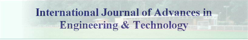 International Journal of Advances in  Engineering & Technology